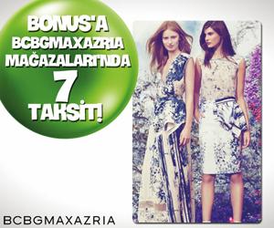 Bonus'a özel BCBGMAXAZRIA Mağazaları'nda 7 taksit!