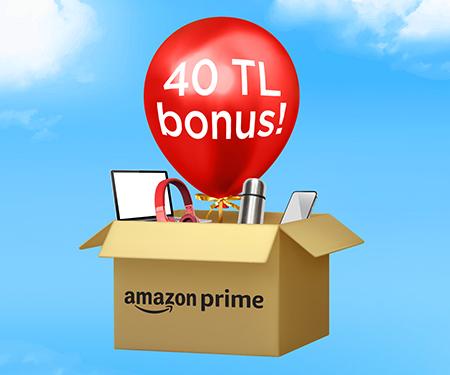 Mastercard'lılara özel Amazon.com.tr'de 40 TL bonus!