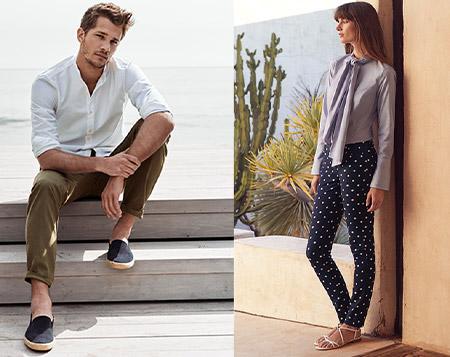 Yeni sezon kadın–erkek pantolonlarında %25 indirim