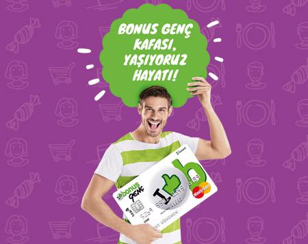 Final döneminde Bonus Genç Kafası market harcamana 15 TL!