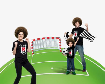 BJK-FB derbisinde BJK'nin attığı her gol için 5 TL bonus!