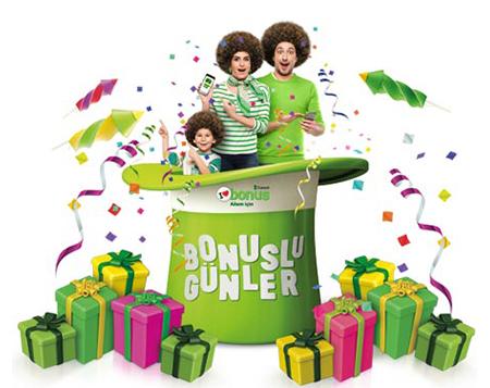"""Bonuslu günler başladı! <br>Seçili markalarda <span class=""""big"""">60 TL bonus!</span>"""