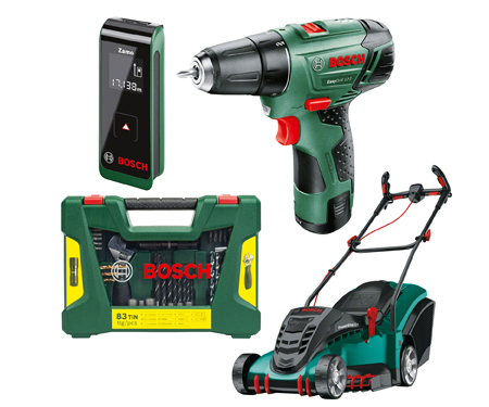 Bosch elektrikli el aletleri alışverişinize 25 TL indirim!