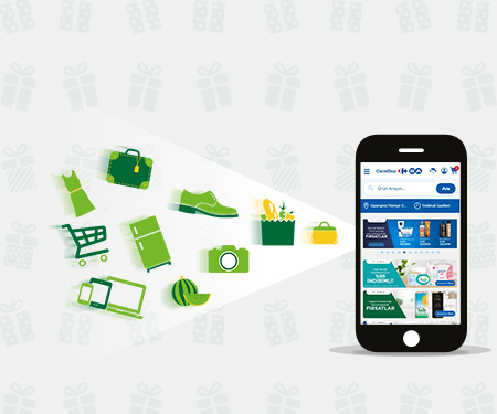 www.carrefoursa.com'da Market mobil uygulamasında 50 TL indirim!