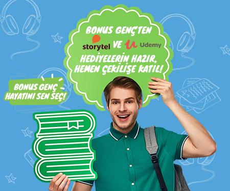 Storytel ve Udemy hediyelerin hazır, hemen çekilişe katıl!