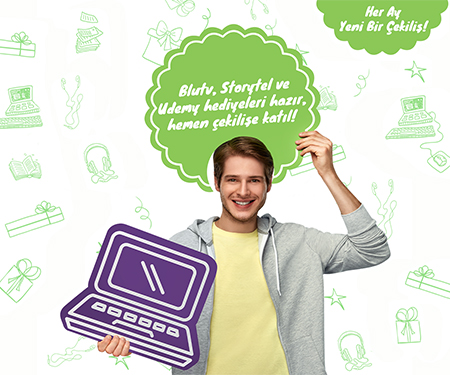 Bonus Genç Udemy, Storytel ve BluTV Hediye Çekilişi Sonuçlandı!
