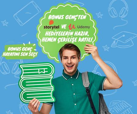 Haziran ayı Bonus Genç Udemy ve Storytel Hediye Çekilişi Sonuçlandı!