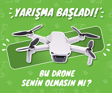 BU DRONE SENİN OLSUN İSTİYORSAN HEMEN ÇEKİLİŞE KATIL!