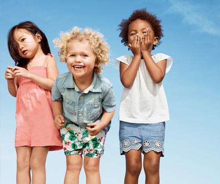 Gap Çocuk ve Bebek ürünlerinde yaz indirimi başladı!
