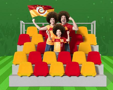 FB-GS derbisinde Galatasaray'ın attığı her gol için 5 TL bonus!