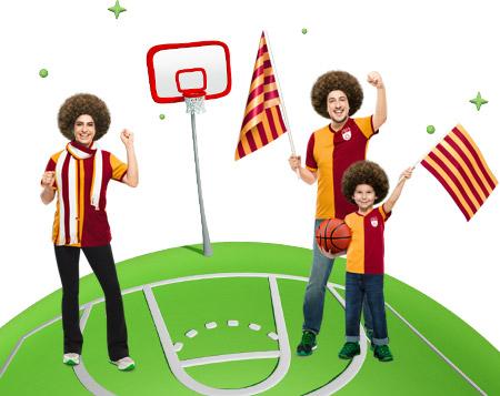 Galatasaray-Darüşşafaka basketbol maçına özel 10 TL bonus!