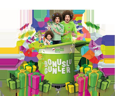 Bonuslu Günler'de 40 TL bonus