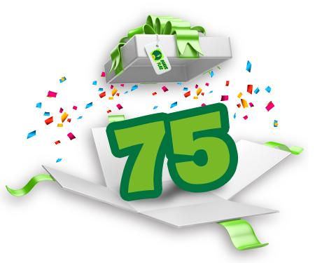 Mayıs ayında 75 TL Bonus!