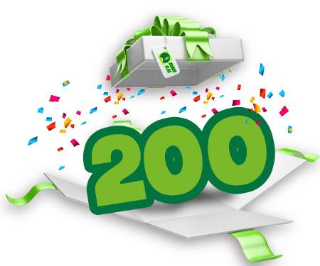 Haftasonu 5  Markada 200 TL'ye Varan Supriz Bonus!
