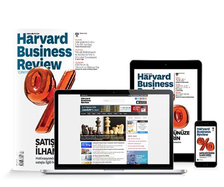 Harvard Business Review dergisi yıllık aboneliklerine %40 indirim ve 3 taksit!