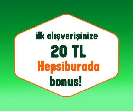 Bonus'a başvurun, 20 TL Hepsiburada bonus fırsatını kaçırmayın !