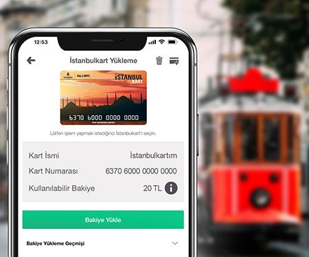 İstanbulkart yüklemelerinize toplam 50 TL bonus!