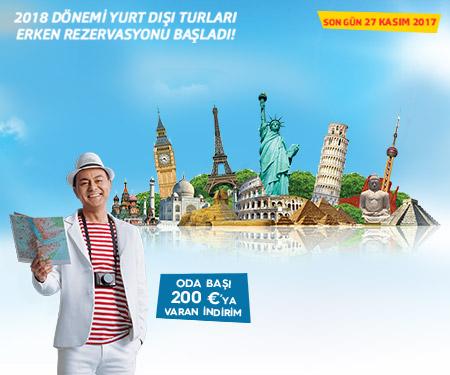 Yurt Dışı Turlarında 9 Taksit Jolly'de!