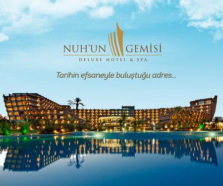 Jolly'den Nuh'un Gemisi Deluxe Hotel & Spa'da 9 Taksit