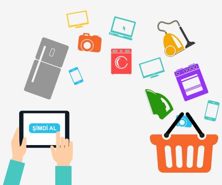 E-ticaret sitelerinde Elektronik ve Beyaz Eşya Alışverişinize 30 TL bonus!