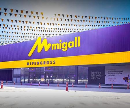 Kayseri Migall Gross Market'te <br> 10 TL bonus!