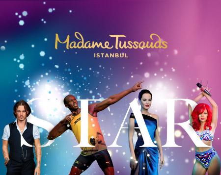 Temmuz ayında Madame Tussauds'da %25 indirim