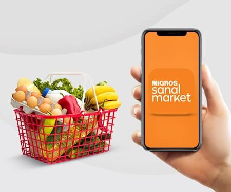 Migros Sanal Market'te 30 TL bonus