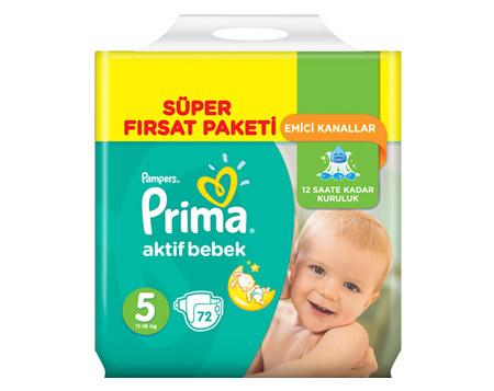 BonusFlaş'a Özel Migros'ta Prima Aktif Bebek Fırsatı 4 TL İndirimli!