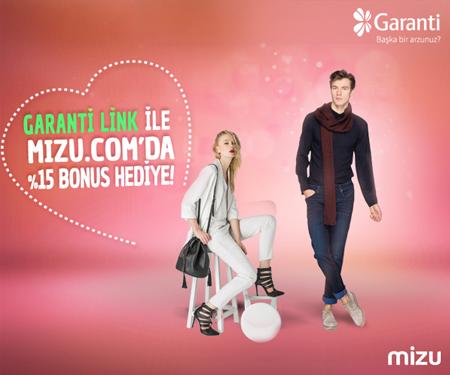 Mizu.com'da %15 Bonus!