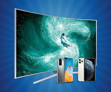Vatan Bilgisayar mağazalarında TV ve telefon alışverişlerinize %5 Bonus + % 5 indirim