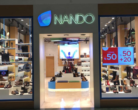 "Nando Ayakkabı'da<br><span class=""big""> %50 Nando bonus!</span>"