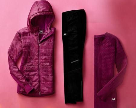New Balance'ta Spor Giyim Koleksiyonuna özel %40 indirim!