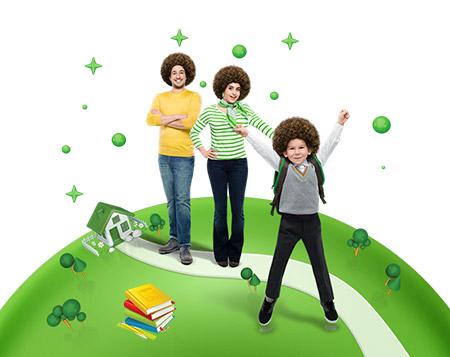 Okul alışverişlerinizi Bonus'la yapın, <br>60 TL bonus kazanın!