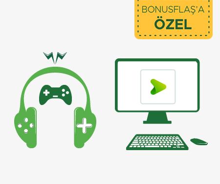 Dijital oyun ve müzik platformlarında harcadığınız <br>kadar bonus!