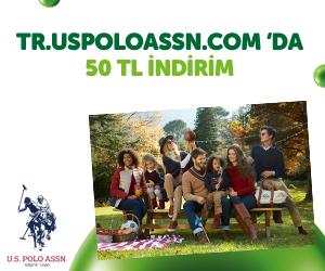 """tr.uspoloassn.com'da <span class=""""big"""">50 TL İNDİRİM*!</span><br/> *250 TL ve üzeri yeni sezon alışverişlerde geçerlidir.<br/> İNDİRİM KODU: GARANTIBANK"""