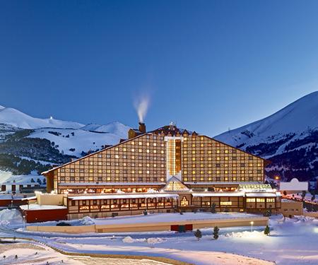 Polat Erzurum Resort Hotel'de Garanti BBVA Kartlarına özel %10 indirim