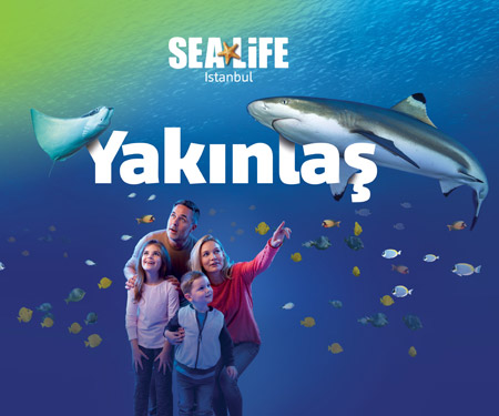 SEA LIFE Akvaryum'da %25 indirim