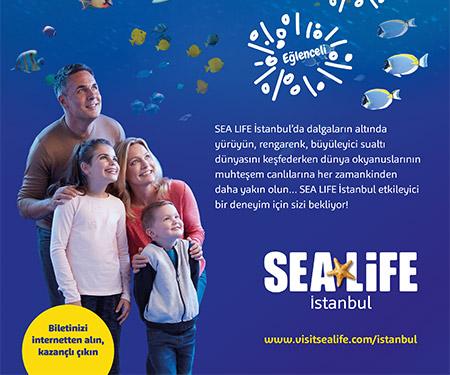 SEA LIFE Akvaryum'da %50 indirim