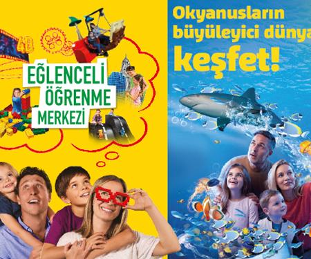 SEA LIFE İstanbul'da %50 indirim