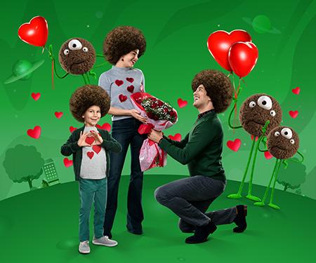Sevgililer Günü alışverişlerinize  toplam 80 TL bonus!