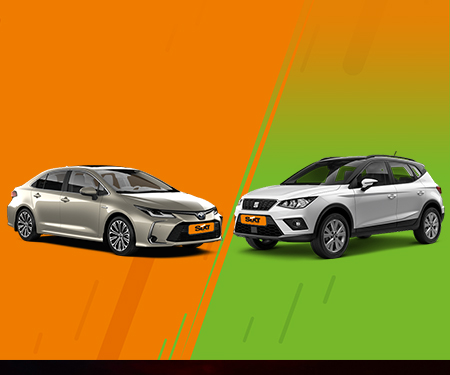 Sıxt Rent a car'da Seat Arona 199 TL,Toyota Corolla Hybrıd 219 TL! Üstelik ek sürücü ücretsiz!