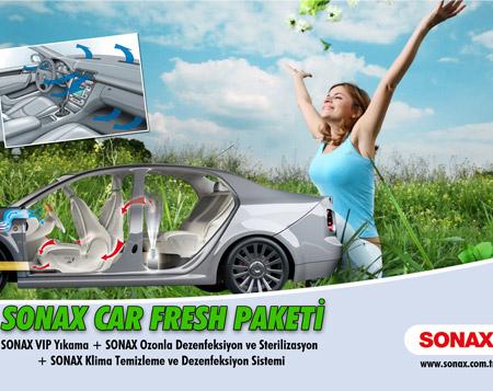 "Sonax Car Fresh Paketi Bonus'a özel <br><span class=""big"">%25 İndirimle!  </span>"