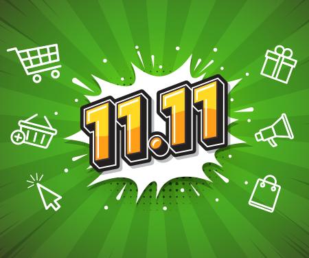 11.11'de online alışverişinize 30 TL bonus!