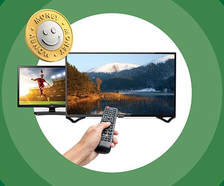 Money Bonus ile televizyon alışverişlerinde %10 indirim!