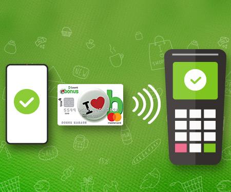 Temassız ve mobil ödeme harcamalarınıza toplam 30 TL bonus!