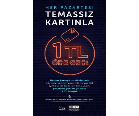 Bonus Trink İle Beşiktaş-Üsküdar Motor Geçişleri 1 TL