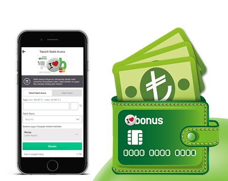 Taksitli Nakit Avans'ta BonusFlaş'a Özel %1,79 Faiz Fırsatı