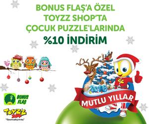 Toyzzshop'ta Bonus'a özel 8 Taksit! Bonus Flaş'a özel Çocuk Puzzle'larında %10 indirim