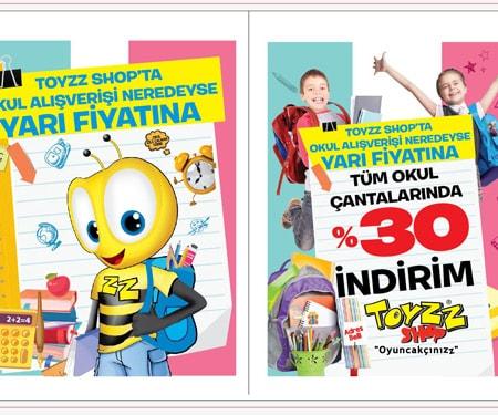 Toyzz Shop'ta Bonus'a 100 TL'ye 20 TL Toyzz Shop Bonus