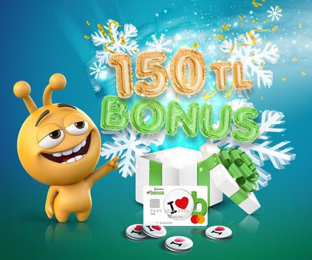 turkcell.com.tr'de 150 TL bonus!